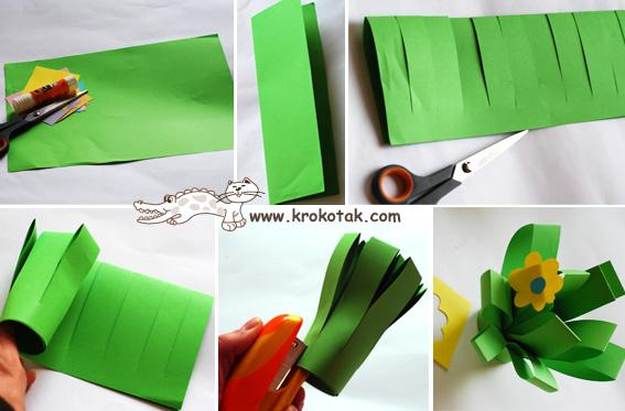 Как сделать подарок маме своими руками с цветного бумагой