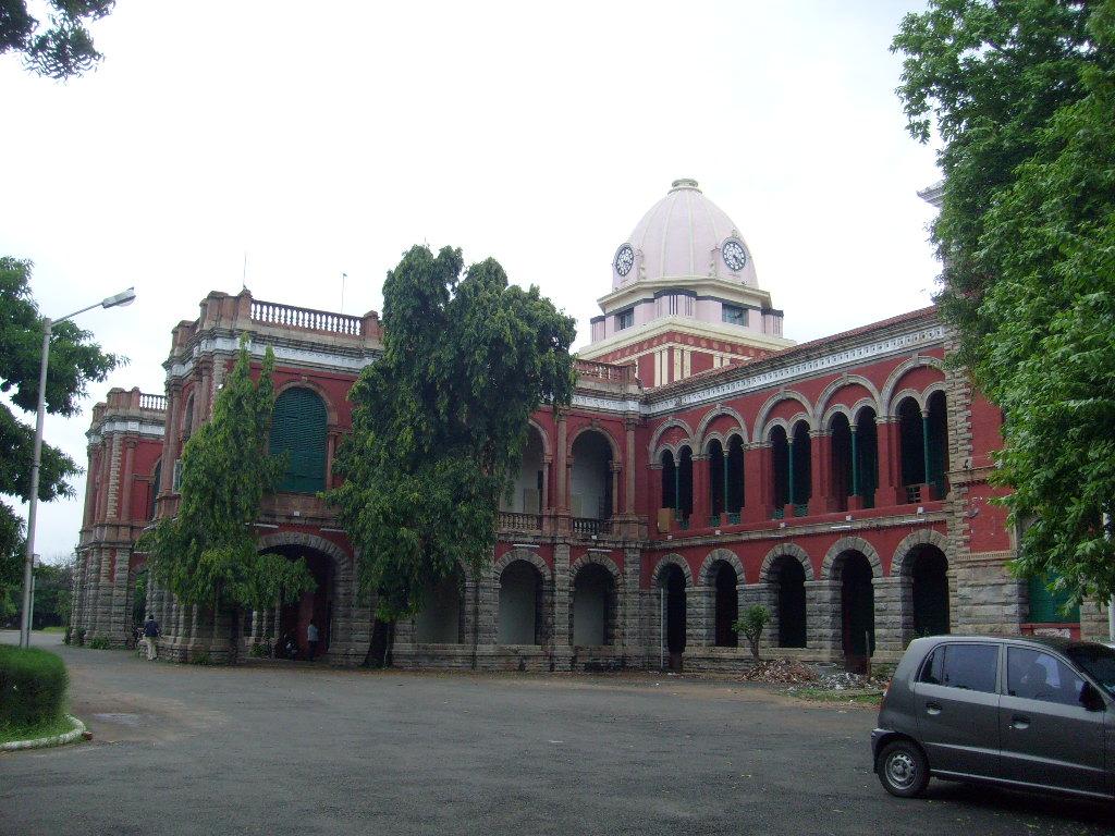 chennai presidency college and maths genius ramanujan