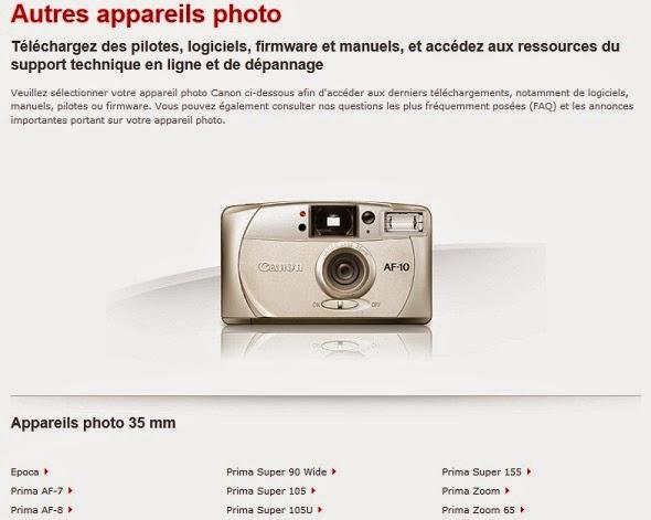 Fotografia della compatta 35mm Canon AF-10