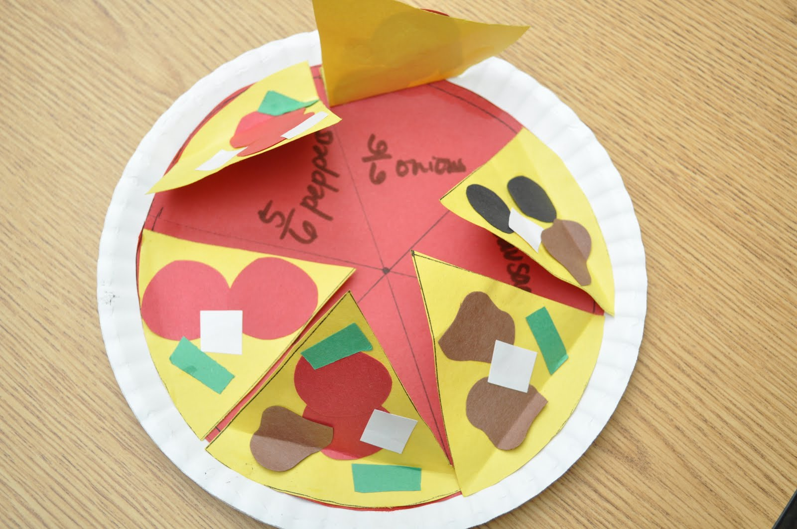 The Wise & Witty Teacher: Perfect Pizza Fractions