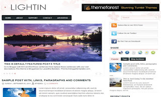 Lightin Blogger Template