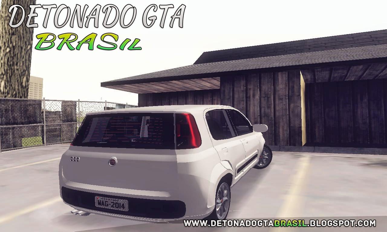 GTA SA - Fiat Uno Vivace 2013