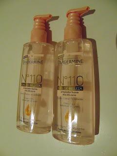 Review: Diadermine N°110 Gel de Belleza Limpiador Suave
