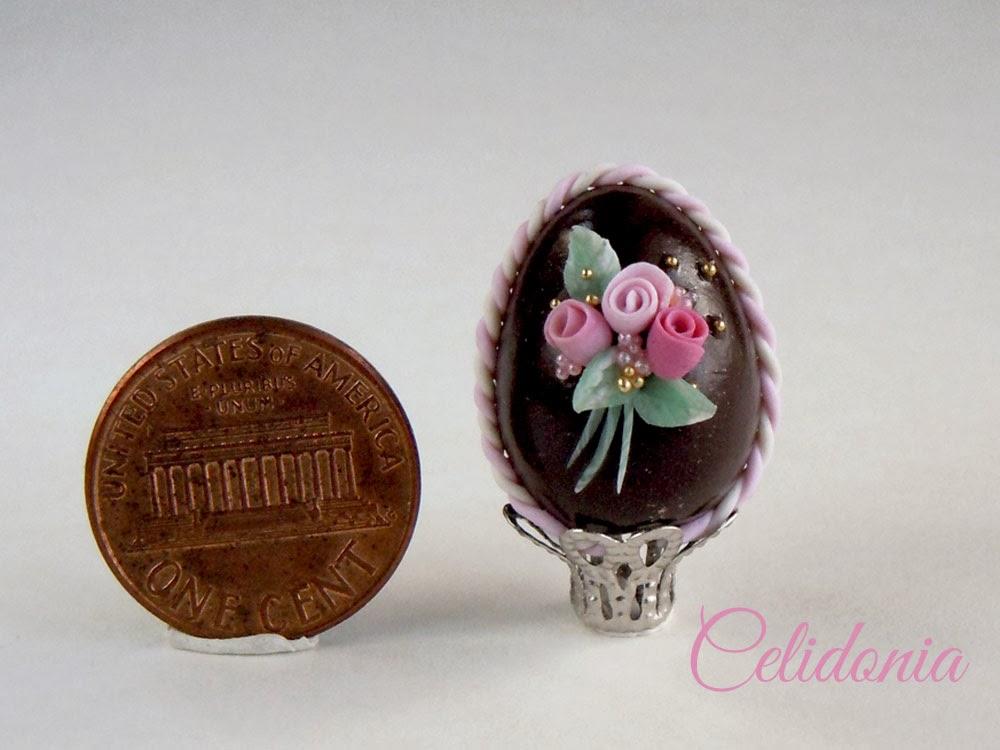 miniatura uovo di pasqua