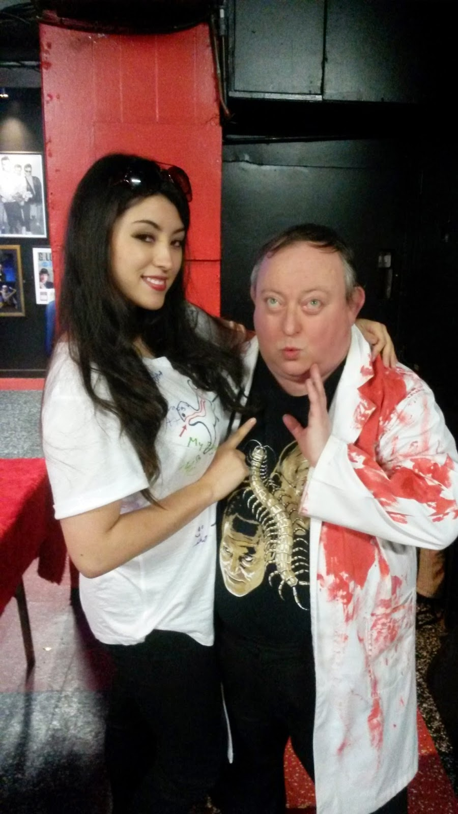 midnight media stuff camden film fair laurence r harvey and emma