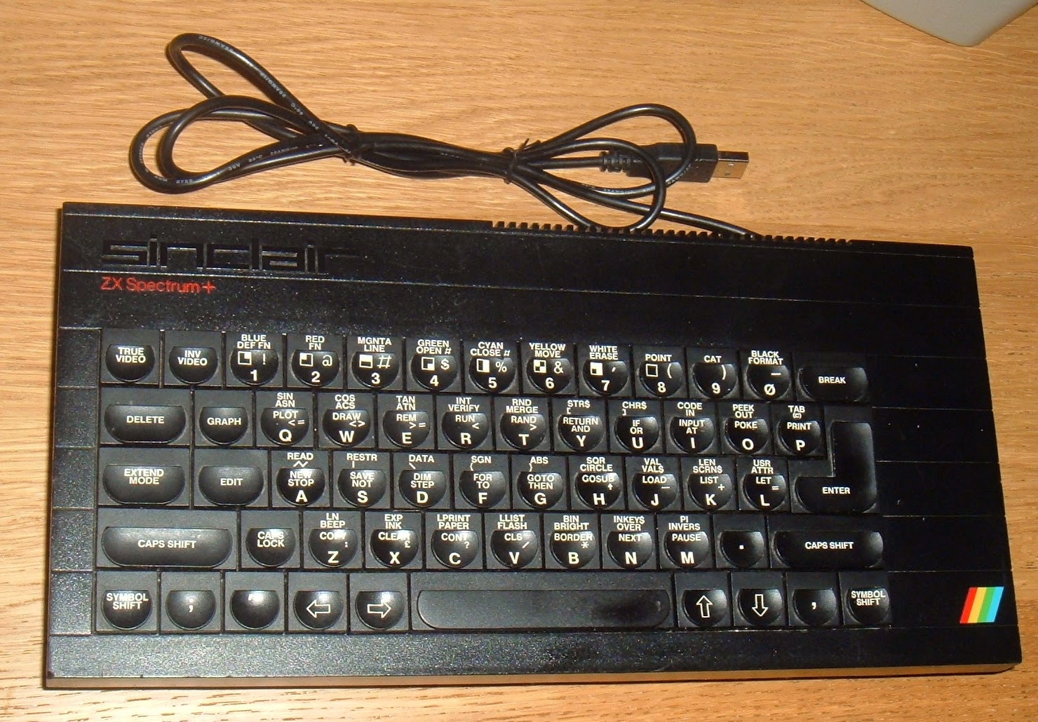 Tynemouth Software August 2014 Keyscan Wiring Diagram Using The Spectrum For Usb Keyboards Is A Bit Annoying As Extra Keys Cant Really Be Used To Full Advantage Being Wired Multiple Keypresses On