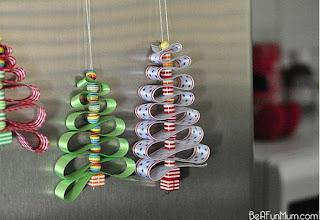 Ideias de decorações para o natal feitas de papel