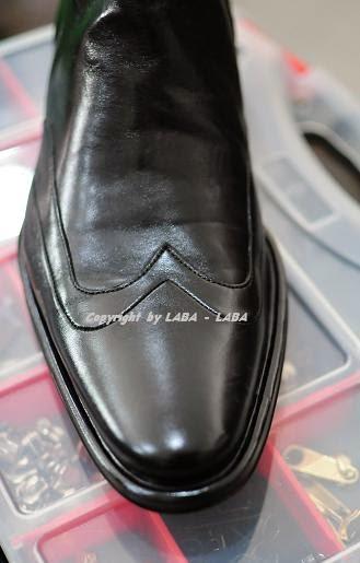 reparasi sepatu Aldo Brue