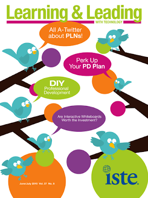 twitter birds and pln words