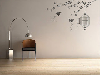 ������ ���� 2012, ����� 2012,������� wall-stickers-birds-and-cage.jpg