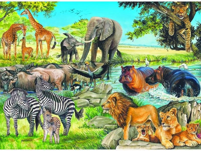 Картинка тигра для детей