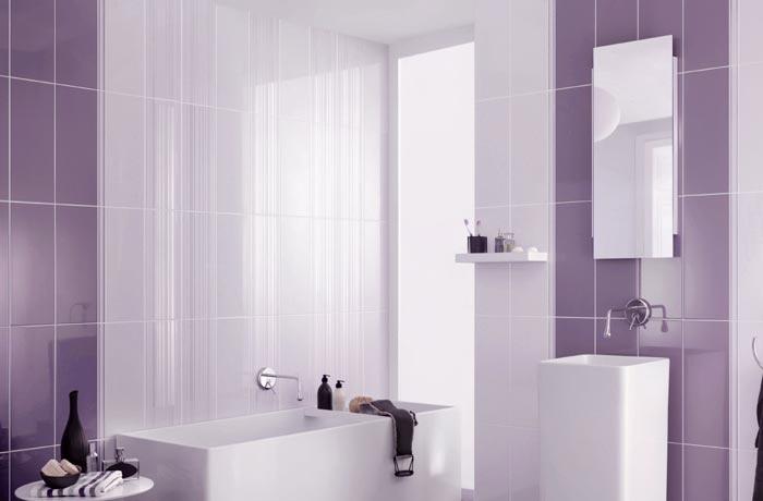 Decoracion De Baños Color Blanco:baños color violeta