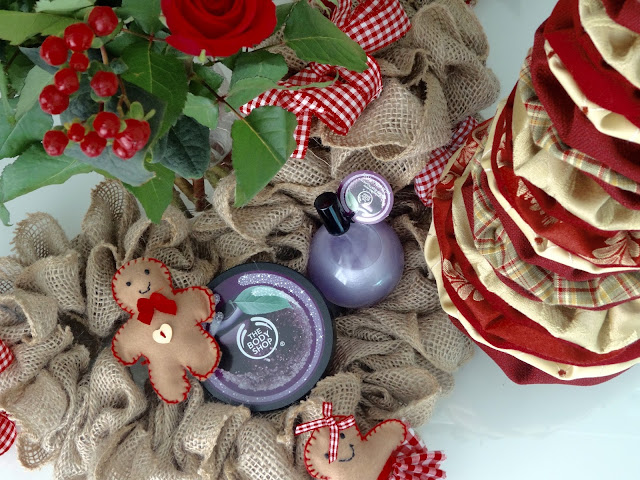 The Body Shop Frosted Plum Body Butter and The Body Shop Frosted Plum Shimmer Mist