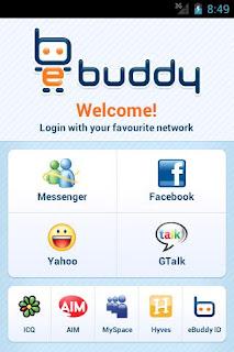 Descargar eBuddy Messenger para Android Gratis