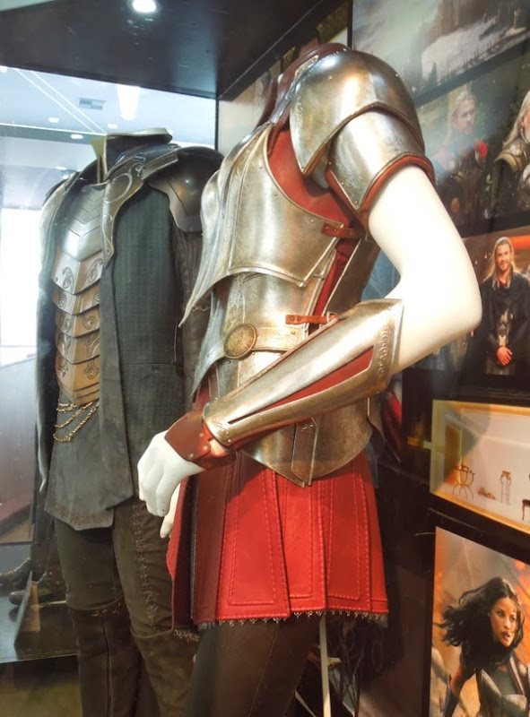 Thor 2 Fandral Sif movie costumes