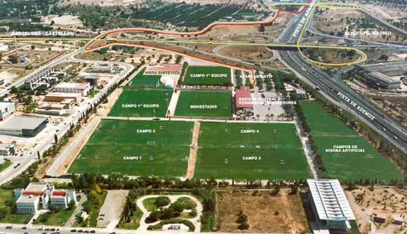 Nap i col banquia adquiere la ciudad deportiva del for Edificio puerta real madrid