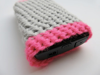free crochet pattern phone case cover