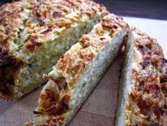 Parsnip, Gruyere and Thyme Bread