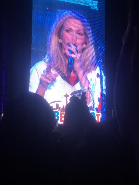 Ellie Goulding Live, Bumbershoot 2015, Ellie Goulding Bumbershoot, Moschino Jersey