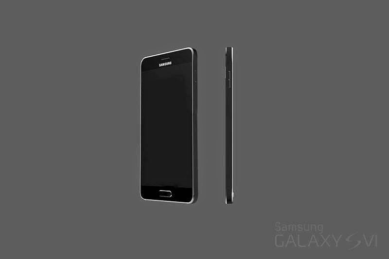 Samsung Galaxy S6 render unofficial