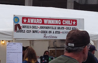 Award Winning Chili Johnsonville Brats