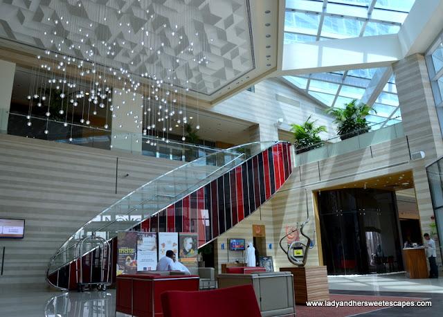 Novotel Fujairah hotel lobby