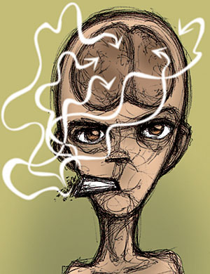 Dejar fumar por medio de la rumia