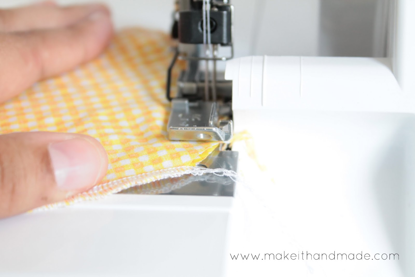 Serging In The Round Tutorial by Make It Handmade