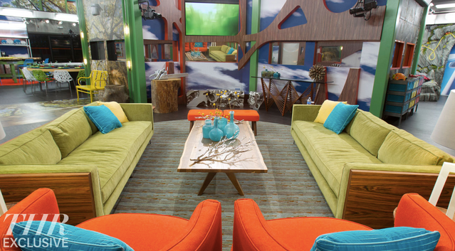Big Brother 16 Living Room