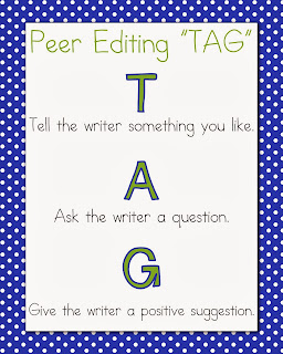 "Peer Editing ""TAG"""