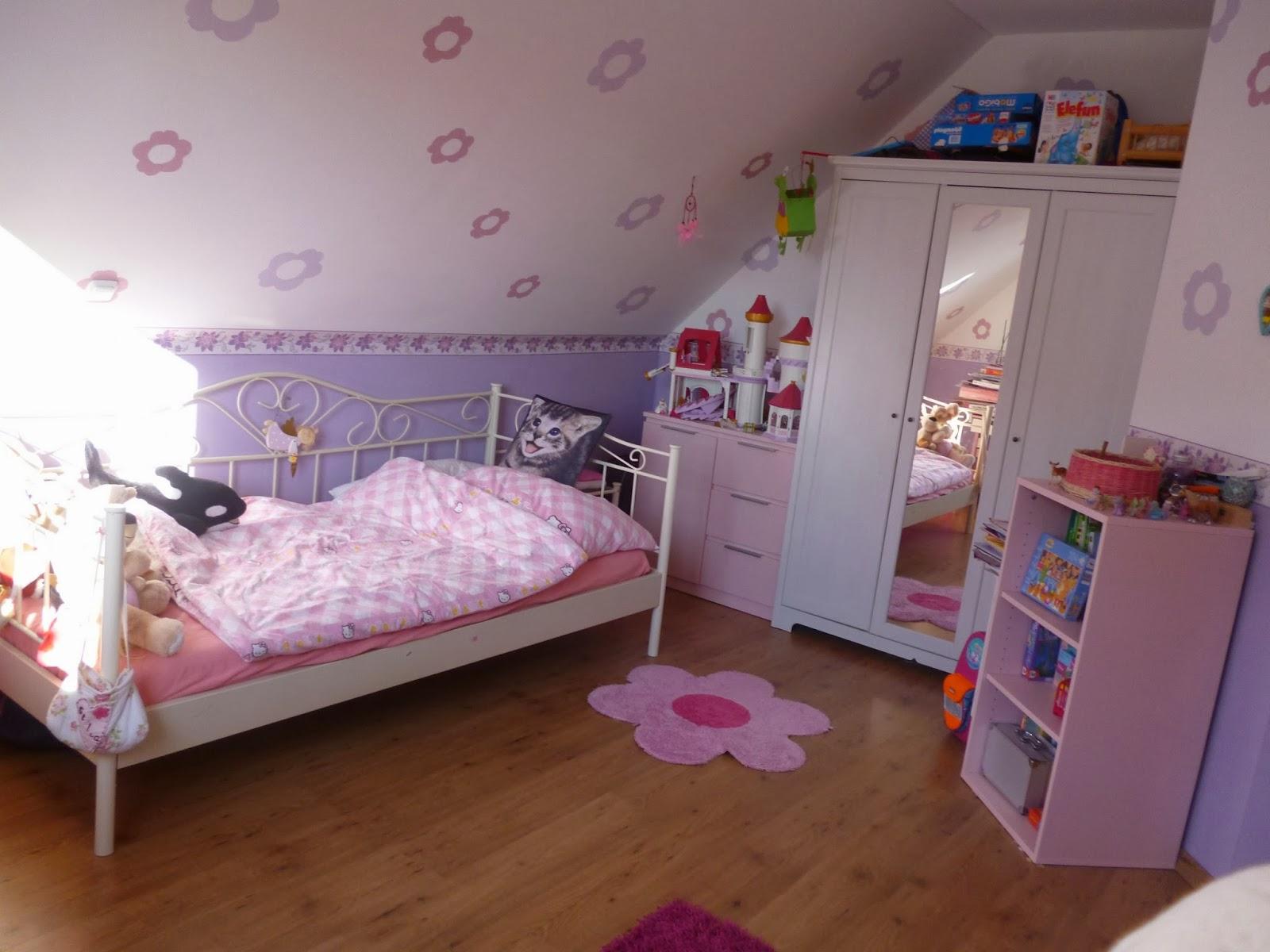 Cuarto de ni a en rosa y lila dormitorios colores y estilos - Habitacion para nina ...