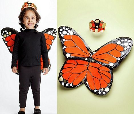 Disfraz: Como hacer alas de Mariposa o Hada : 1a parte