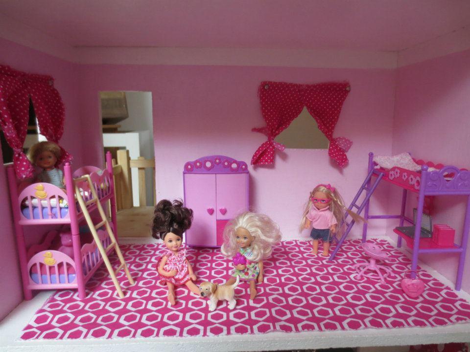 Felinchens wohnhaus barbie - Barbie kinderzimmer ...