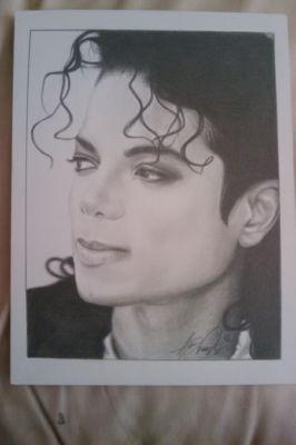 Michael Jackson Original Drawing 9 215 12 By Anthony Douglas