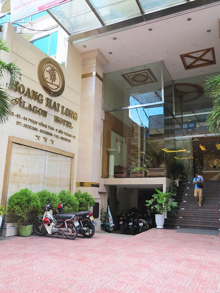 Hoang Hai Long Entrance