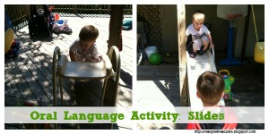 oral language, oral language activities, outdoor play