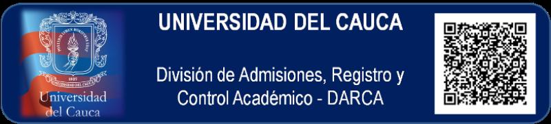División de Admisiones, Registro y Control Académico - UNIVERSIDAD DEL CAUCA