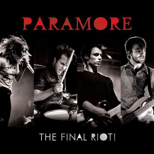 riot paramore logo. the final riot paramore album