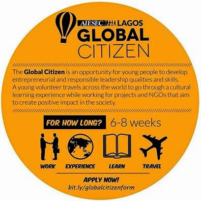 GO ON INTERNSHIP ABROAD WITH AIESEC LAGOS
