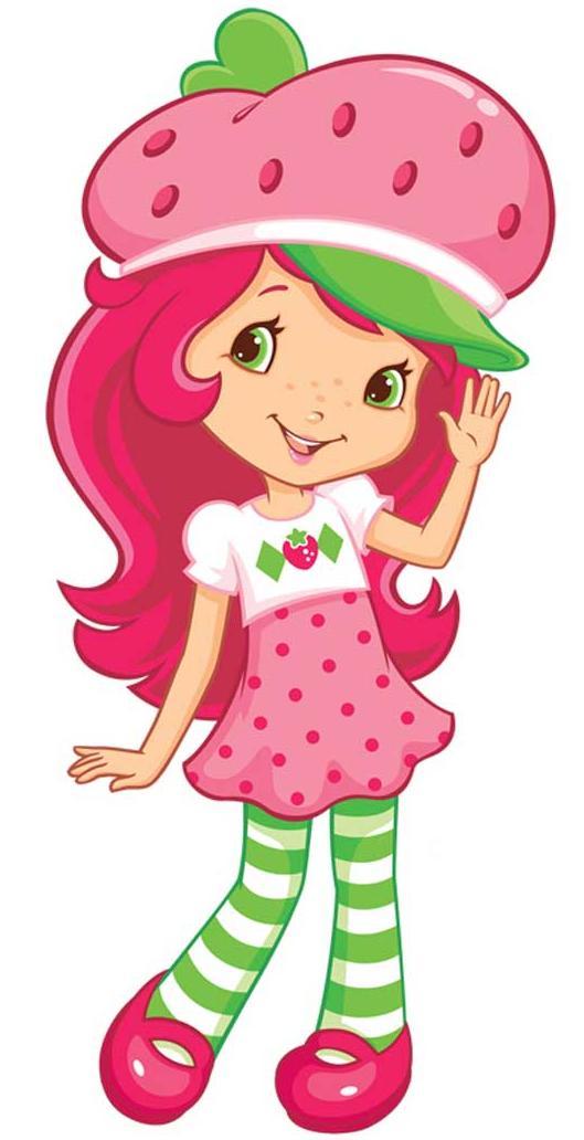 Sonhando com cores: Nova Moranguinho e sua turma - so cute! :)