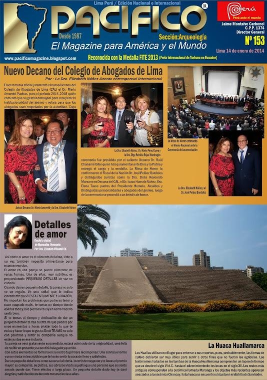 Revista Pacífico Nº 153 Arqueología