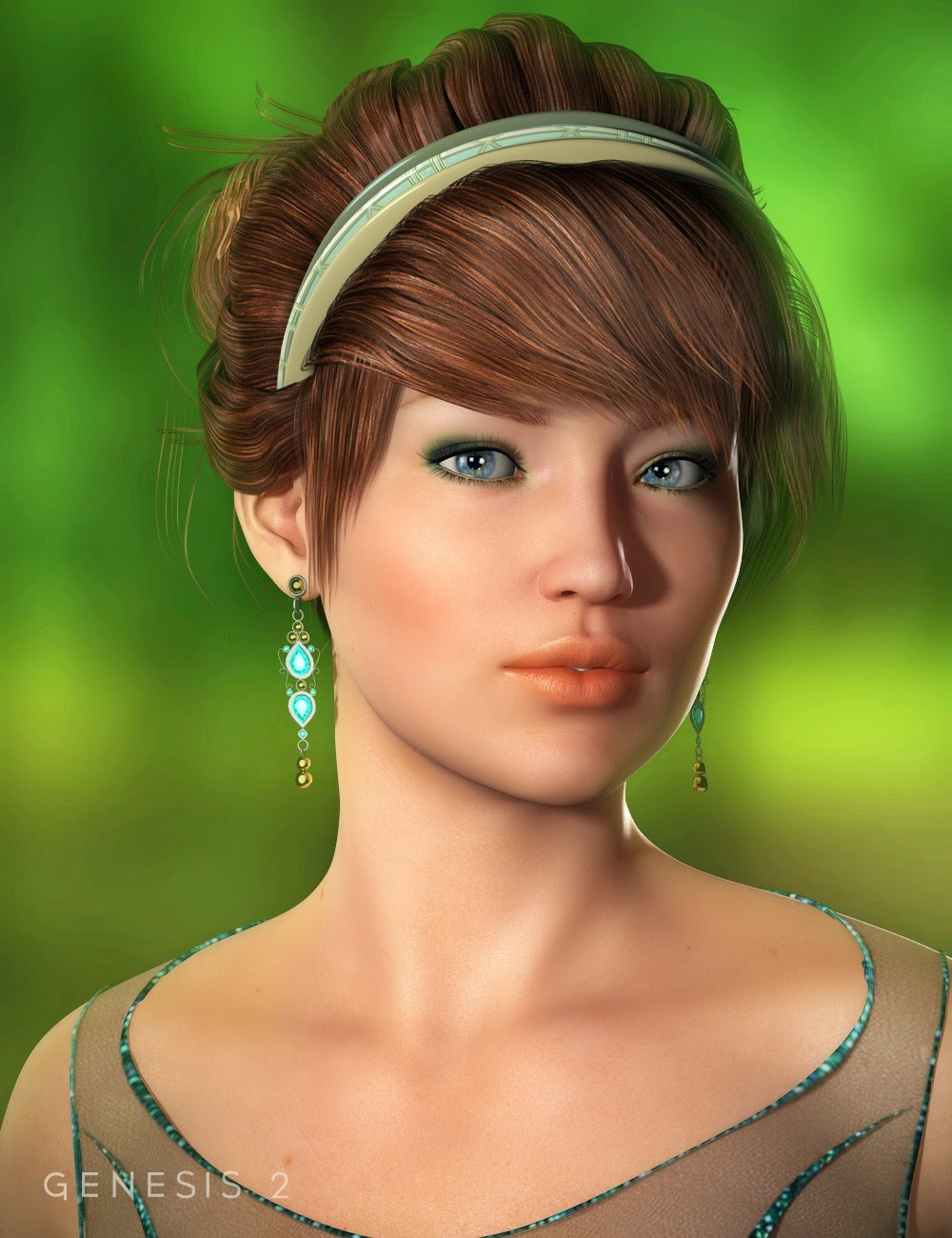 Chic cheveux pour Genesis et Genesis 2 Femme