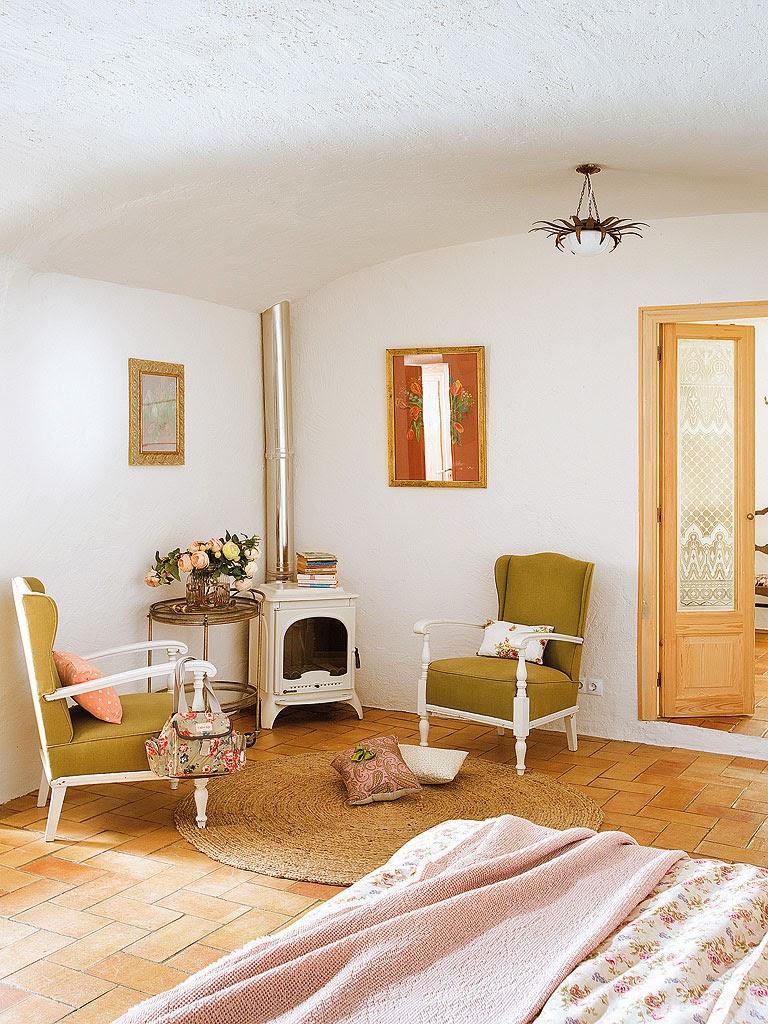 Casa de estilo r stico actualizado en girona etxekodeco for Decoracion casa girona