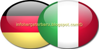 Prediksi Jerman vs Italia | Jadwal Skor Semi Final Euro Jum'at 29 Juni 2012