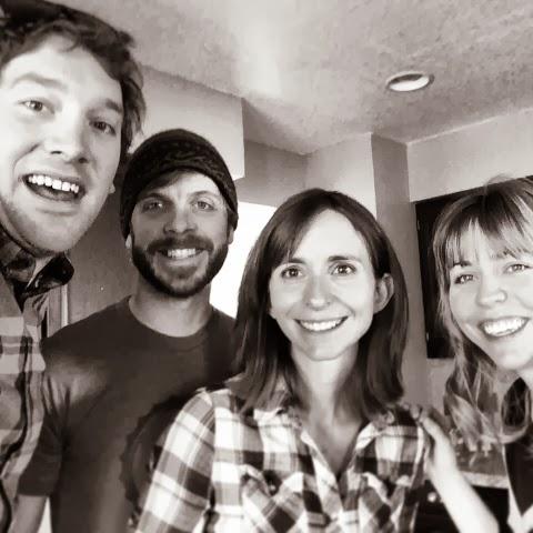 friends, Denver, Colorado, plaid
