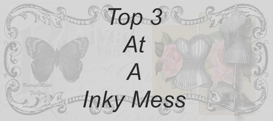 03/2018 Top 3 at A inky mess