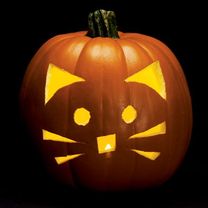 Never listless 12 amazingly perfect pumpkin carving ideas for Cat pumpkin designs to carve