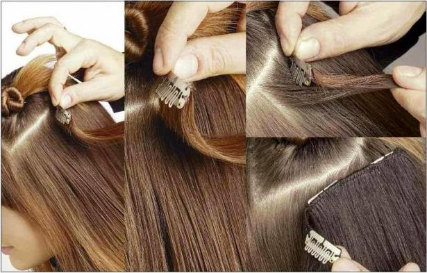 How to use clip hair extensions?