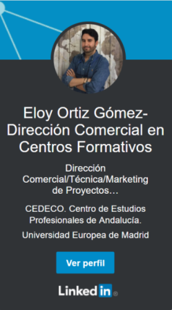 Sígueme en LINKEDIN