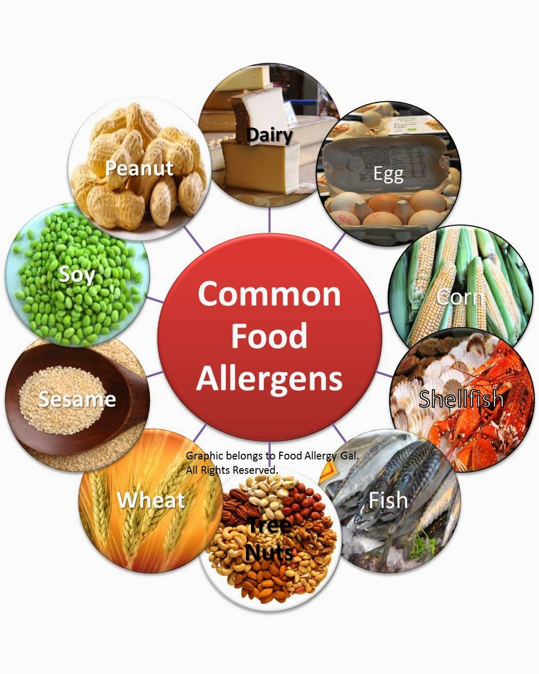 adult allergy food